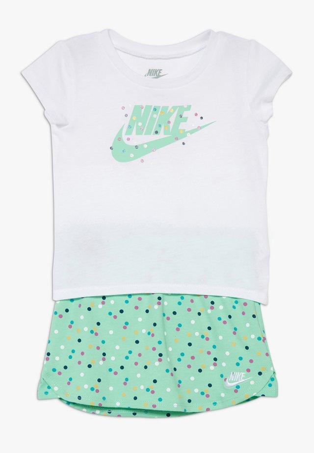 SCOOTER SET BABY - Minirok - emerald rise
