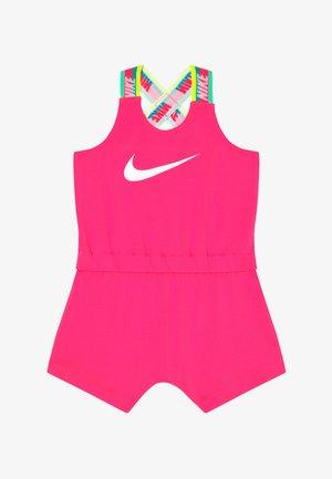 GIRLS RAINBOW ROMPER BABY - Tuta jumpsuit - hyper pink