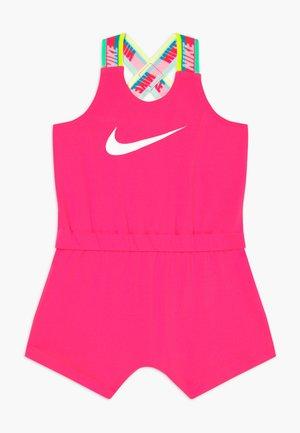 GIRLS RAINBOW ROMPER BABY - Combinaison - hyper pink