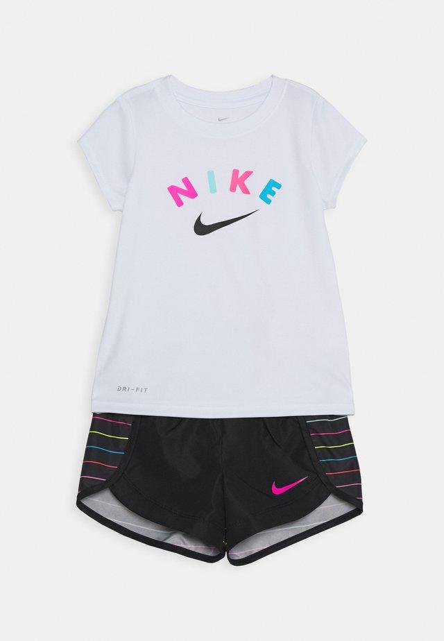 GIRLS SHORT SET - Shorts - black