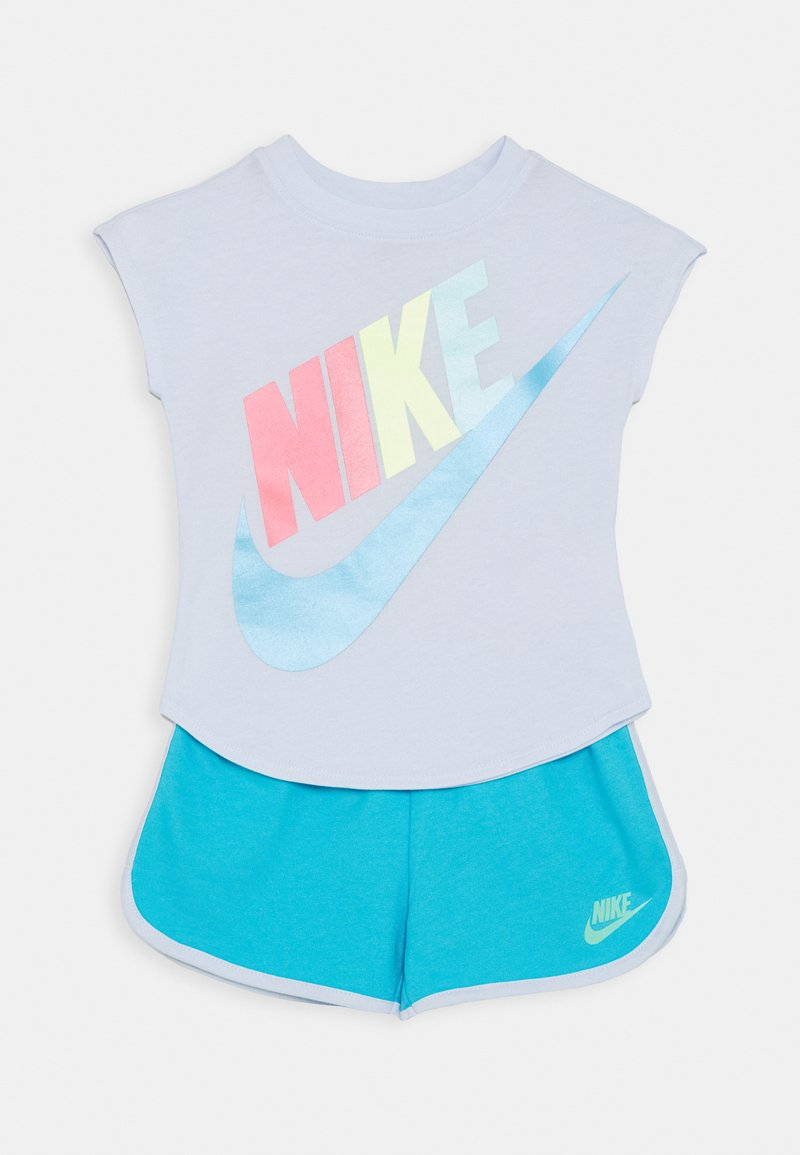 Nike Sportswear - FUTURA TEE SET - Pantaloni sportivi - blue fury