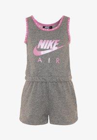 Nike Sportswear - GIRLS AIR ROMPER - Tuta jumpsuit - carbon heather - 0