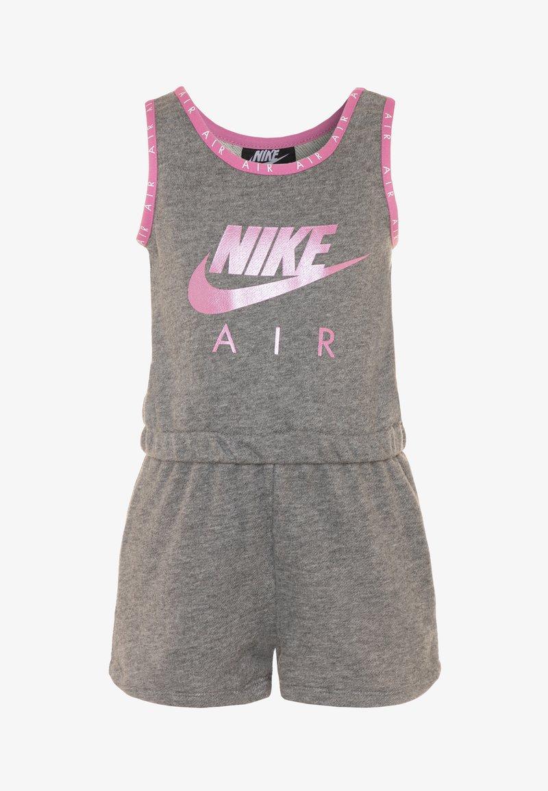 Nike Sportswear - GIRLS AIR ROMPER - Tuta jumpsuit - carbon heather