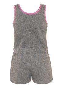 Nike Sportswear - GIRLS AIR ROMPER - Tuta jumpsuit - carbon heather - 1