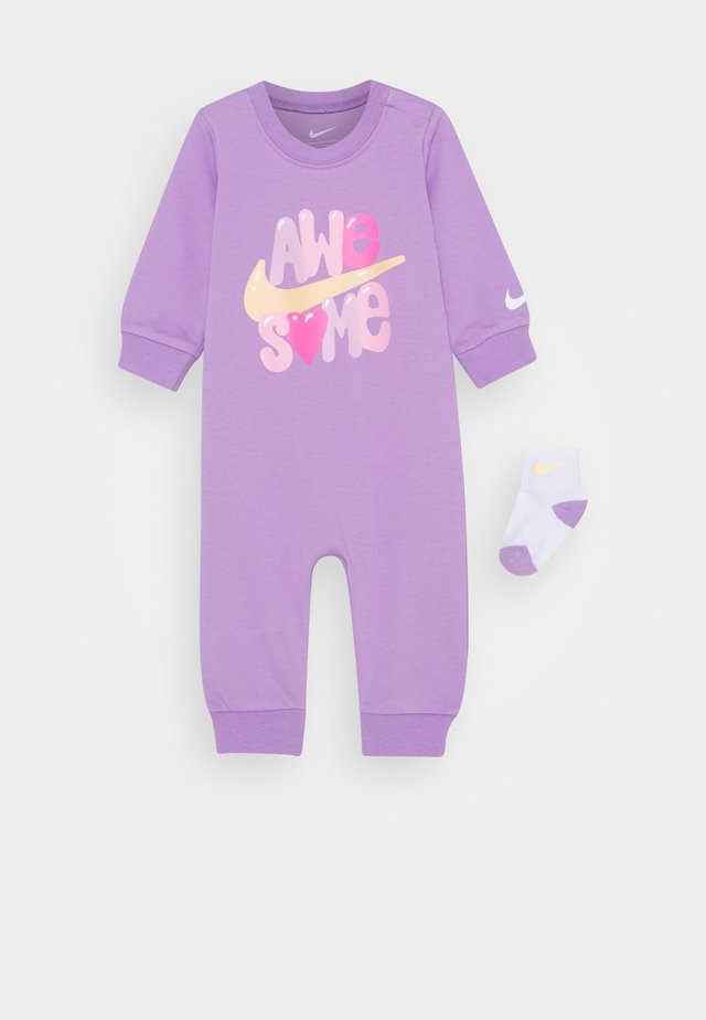 COVERALL - Jumpsuit - violet star