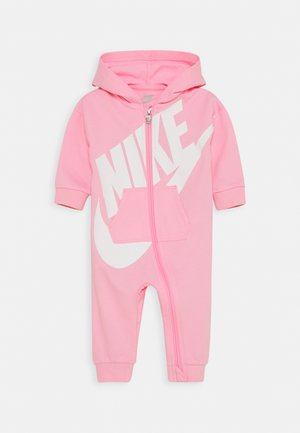 PLAY ALL DAY HOODED COVERALL - Mono - pink