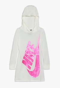 Nike Sportswear - GIRLS FUTURA DRESS - Sukienka z dżerseju - sail - 0