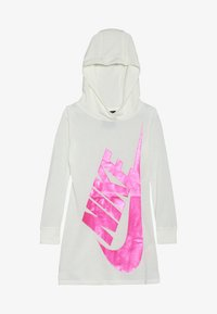 Nike Sportswear - GIRLS FUTURA DRESS - Sukienka z dżerseju - sail - 3