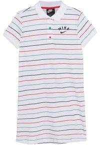 Nike Sportswear - NIKE SPORTSWEAR KLEID FUR KINDER(MADCHEN) - Robe de sport - white/track red/black - 0