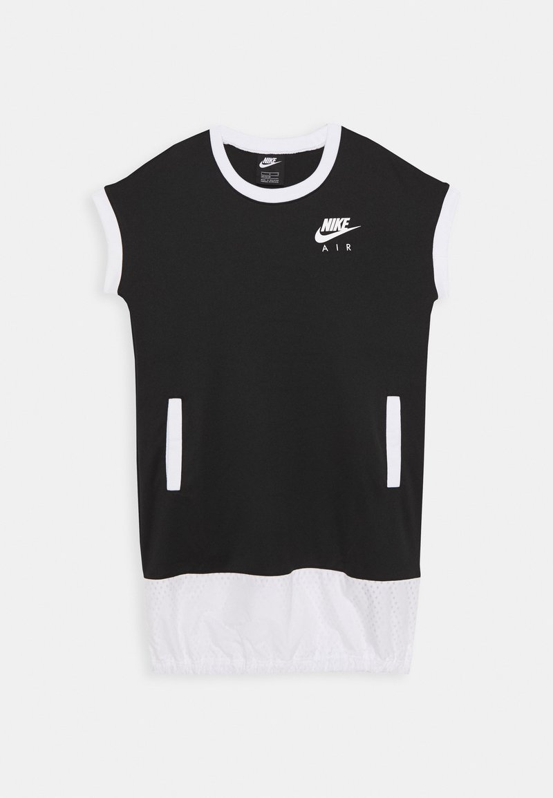 Nike Sportswear - AIR DRESS - Robe en jersey - black/white