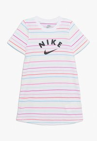 Nike Sportswear - STRIPE DRESS - Žerzejové šaty - white - 0