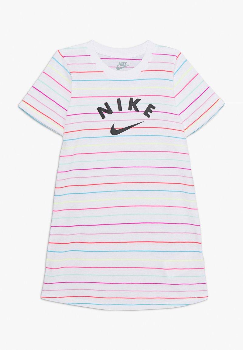 Nike Sportswear - STRIPE DRESS - Jersey dress - white