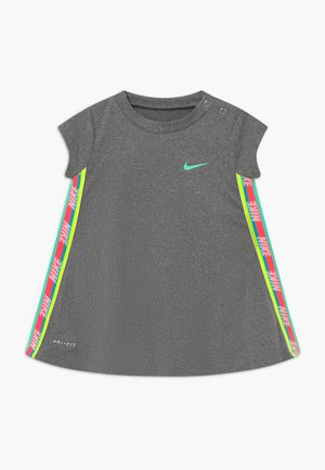 RAINBOW TAPING BABY - Jerseykjoler - carbon heather