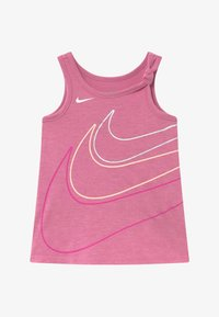 Nike Sportswear - GIRLS KNOT TANK BABY - Vestido ligero - magic flamingo