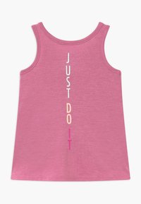Nike Sportswear - GIRLS KNOT TANK BABY - Vestido ligero - magic flamingo - 1