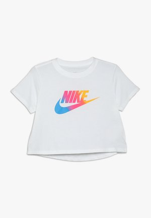 TEE CROP - Print T-shirt - white