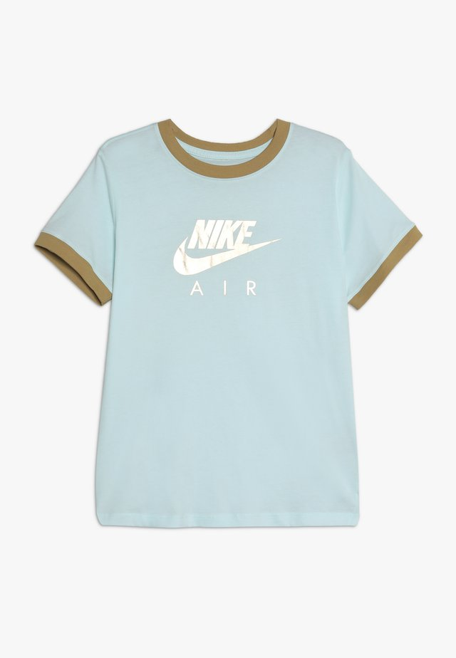 TEE AIR LOGO RINGER - T-shirt print - teal tint