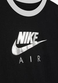 Nike Sportswear - TEE AIR LOGO RINGER - Printtipaita - black - 0