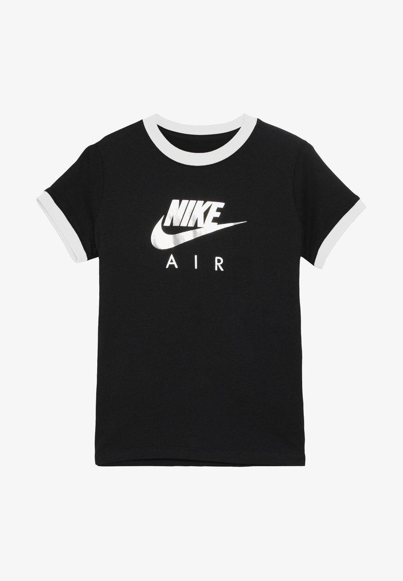 Nike Sportswear - TEE AIR LOGO RINGER - Camiseta estampada - black