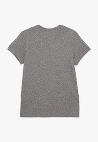 Nike Sportswear - TEE BASIC FUTURA - Print T-shirt - carbon heather/pink - 1