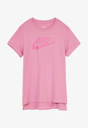 BASIC FUTURA - T-shirt print - magic flamingo/fire pink