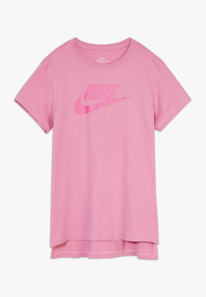 Nike Sportswear - TEE BASIC FUTURA - T-shirt con stampa - magic flamingo/fire pink
