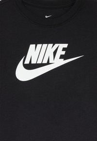 Nike Sportswear - BASIC FUTURA - T-shirt imprimé - black/white - 3