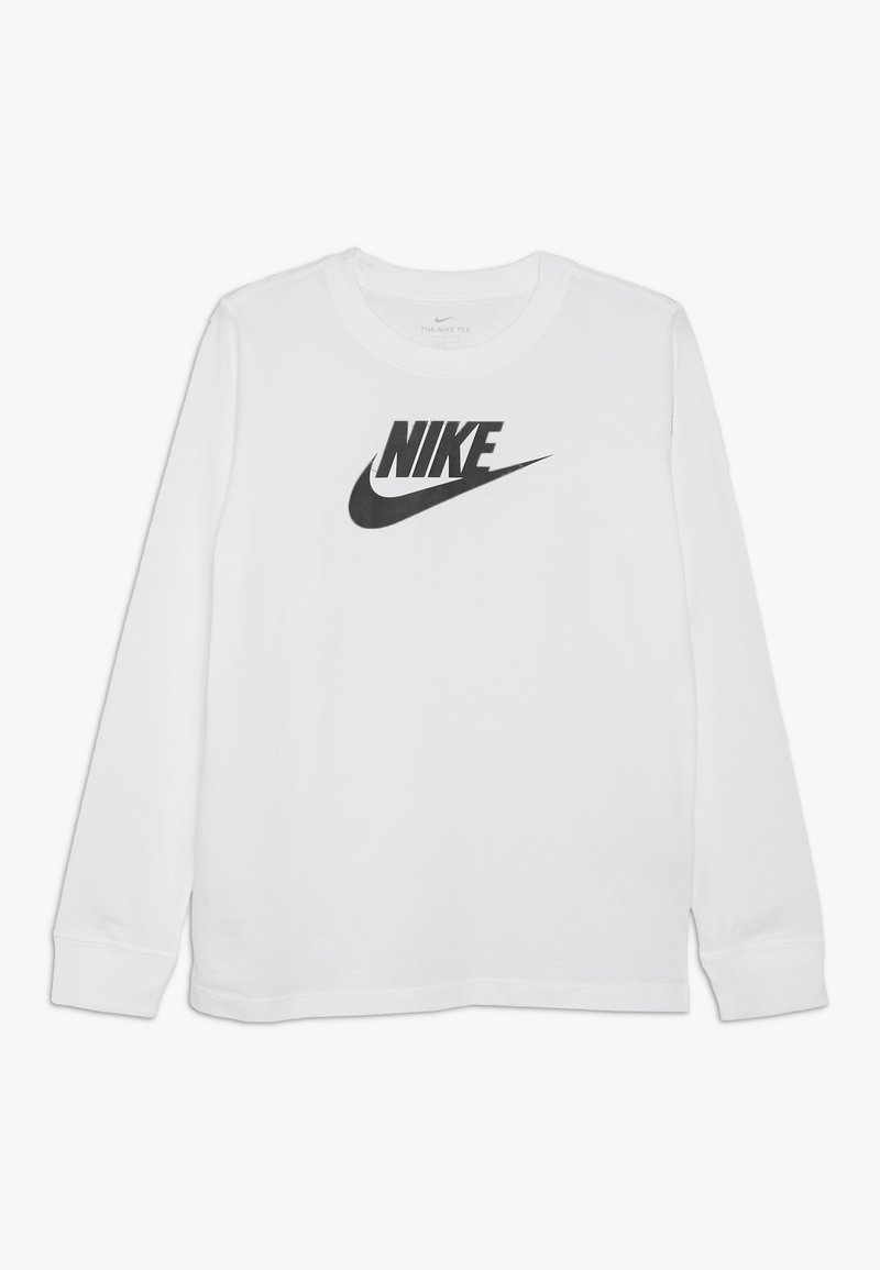 Nike Sportswear - FUTURA HOOK - Long sleeved top - white
