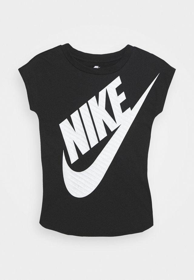 GIRLS JUMBO FUTURA TEE - T-shirt print - black