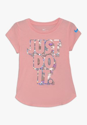 IRIDESCENT SCOOP TEE - T-shirt print - bleached coral