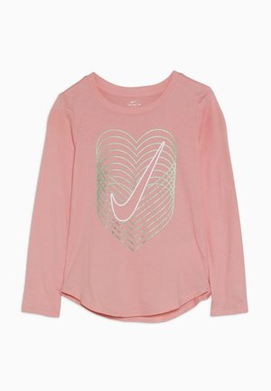 HEART REVERB SCOOP TEE - Long sleeved top - bleached coral