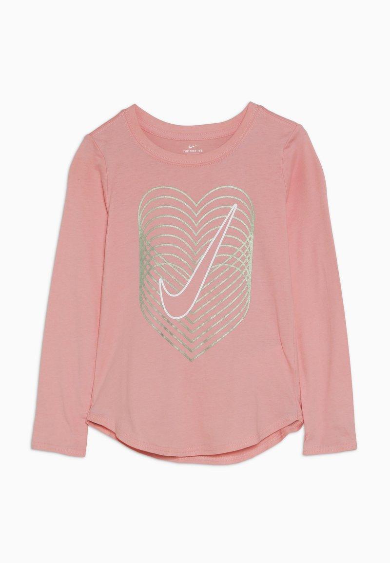 Nike Sportswear - HEART REVERB SCOOP TEE - Longsleeve - bleached coral