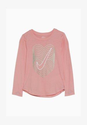 HEART REVERB SCOOP TEE - Maglietta a manica lunga - bleached coral