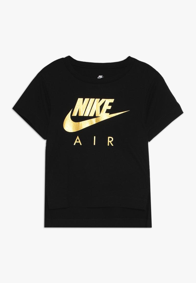 Nike Sportswear - AIR BOXY TEE - Printtipaita - black