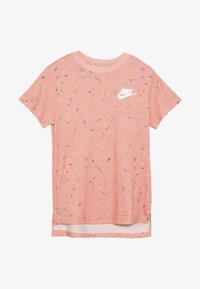 Nike Sportswear - TEE STARY NIGHT - Print T-shirt - bleached coral - 2