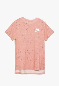 Nike Sportswear - TEE STARY NIGHT - Print T-shirt - bleached coral - 0
