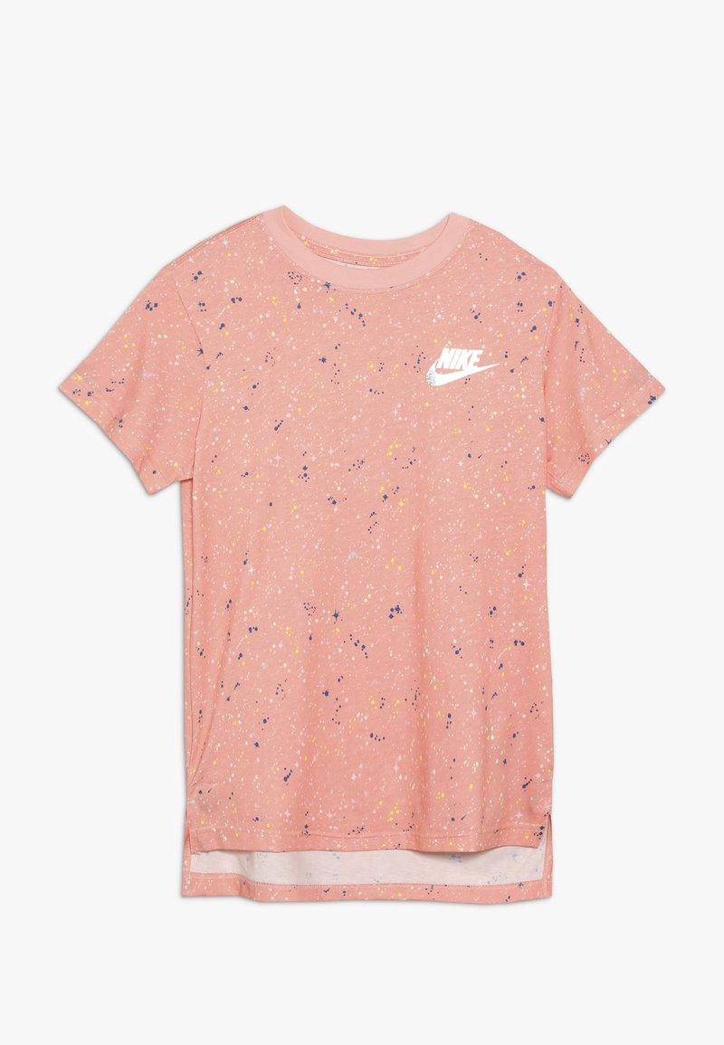 Nike Sportswear - TEE STARY NIGHT - Print T-shirt - bleached coral