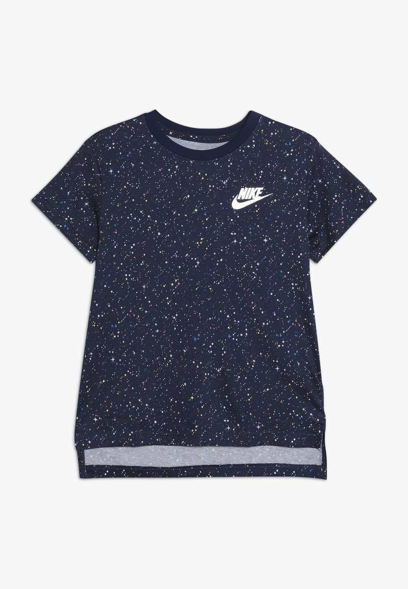 Nike Sportswear - TEE STARY NIGHT - Print T-shirt - blue void