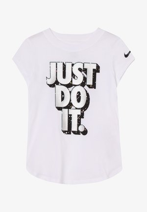 JDI STARRY NIGHT TEE - T-shirt z nadrukiem - white