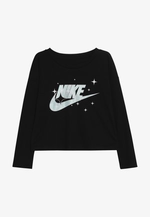 FUTURA STARS TEE - Bluzka z długim rękawem - black