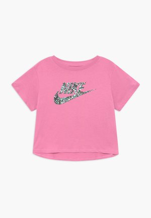 CROP FUTURA - T-shirt print - magic flamingo
