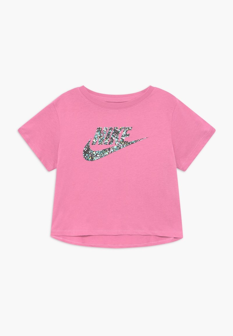 Nike Sportswear - CROP FUTURA - T-shirt con stampa - magic flamingo