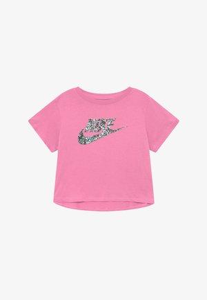 CROP FUTURA - T-shirt imprimé - magic flamingo