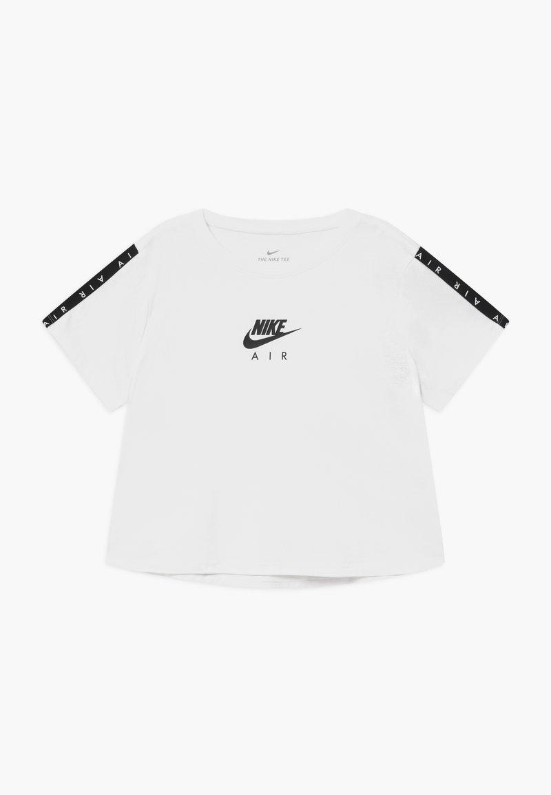 Nike Sportswear - TEE CROP AIR - T-shirt print - white