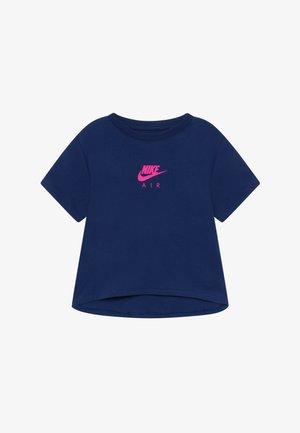 TEE CROP AIR - T-shirt imprimé - blue void
