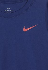 Nike Sportswear - GIRLS JUST DO IT SPLIT  - Print T-shirt - indigo force - 3