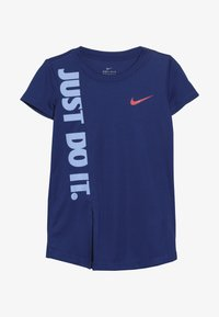 Nike Sportswear - GIRLS JUST DO IT SPLIT  - Print T-shirt - indigo force - 2