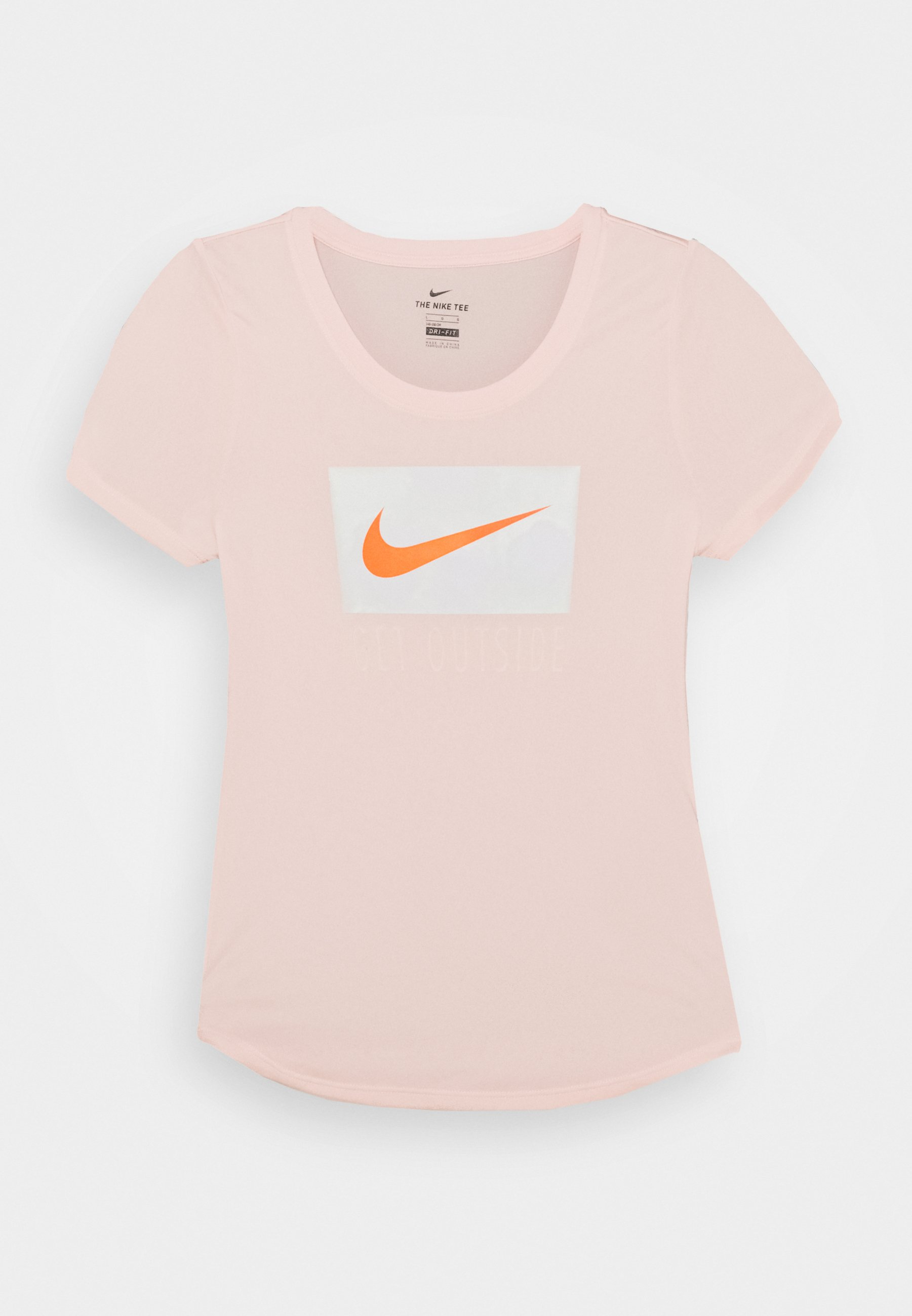 DRY SCOOP T shirt imprimé washed coral