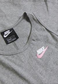 Nike Sportswear - TANK - Top - carbon heather/pink - 3