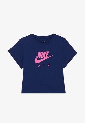 TEE AIR CROP - Print T-shirt - blue void